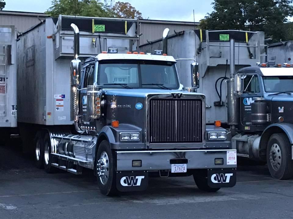 CWT Dump trailers
